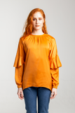 Drop Shoulder Shirt - Apricot