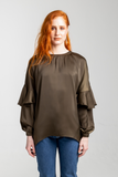 Drop Shoulder Shirt - Olive