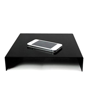 Table Top Black & White Acrylic Reflective Display Table kit for Product Photography, AGG838