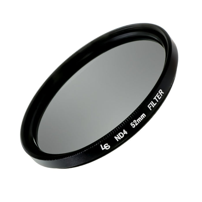 LS Photography 52mm ND4-Neutral Density-Filter, Lens Accessory for Nikon, Canon, Pentax, DSLR Camera Lens Filter, LGG253
