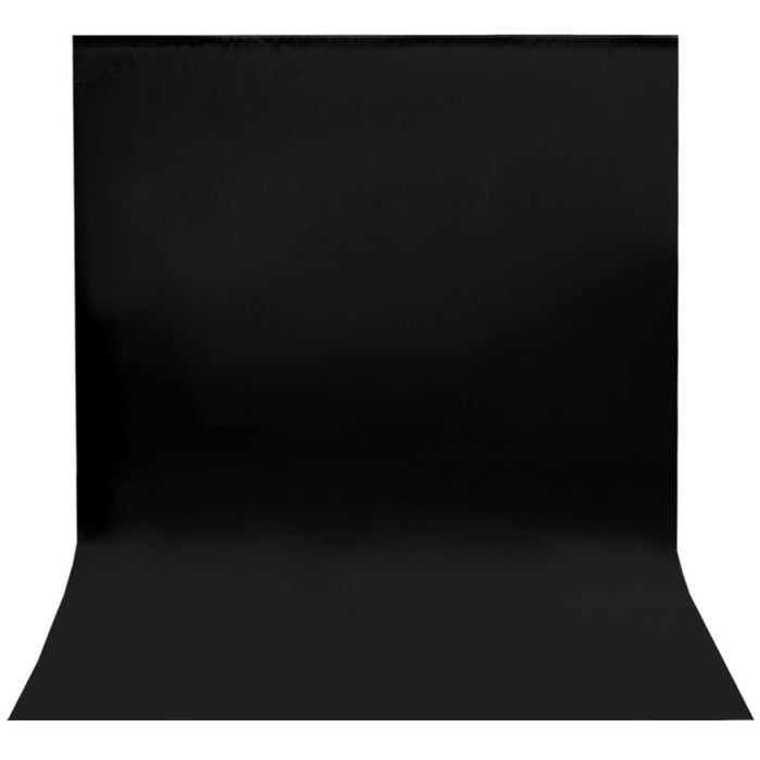 (40% Clearance) 12 ft X 10 ft Black Chromakey Photo Video Photography Studio Fabric Backdrop Background Screen, TEMLNAPL12B