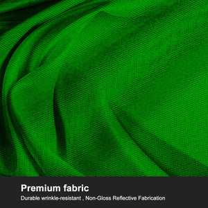 LimoStudio 10 x 20 ft. Chroma Key, Non-Woven Fabric Solid Color Green Screen A - Grade Premium Green Backdrop, AGG3030