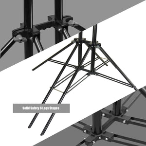 LimoStudio Sexapod (6 legs) 10 x 8.5 ft Photography Reinforced Backdrop Support System with Carry Bag, Photo Video Studio, AGG2670_V3
