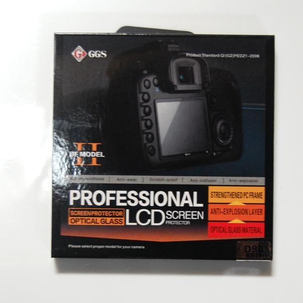 LCD Glass Screen Protectors for Nikon D90,A AGG1006