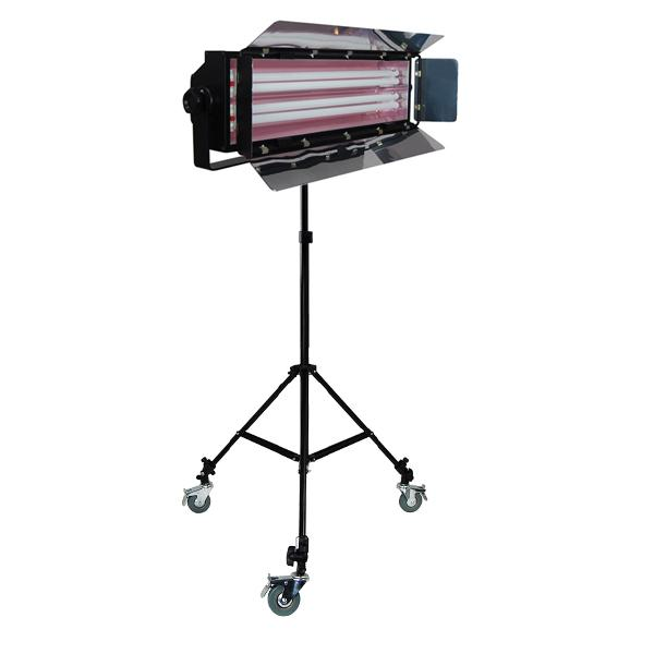 Photo Studio 550W Digital Light Fluorescent 2-Bank Barndoor Light Panel, AGG1008