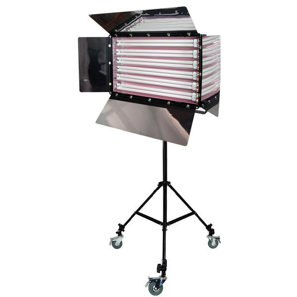 Photo Studio 550W Digital Light Fluorescent 6-Bank Barndoor Light Panel, AGG1010