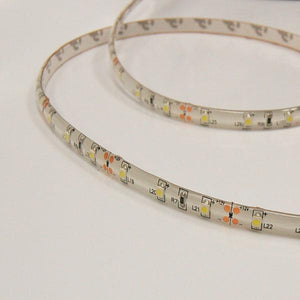 16.4 ft SMD 3528 White Color covered Flexible 300 LED Strip Light Kit with Power Supply adapter, AGG1040