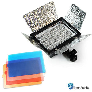 Photography 212 LED Barndoor Photo Video Camera Light Kit 4Color Filters, AGG1047