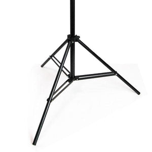 Photography Studio Light Lighting Stand kit 2 x 7 ft. Premium Quality, Light Weight, Adjustable Aluminum Photography Light Stand, AGG104