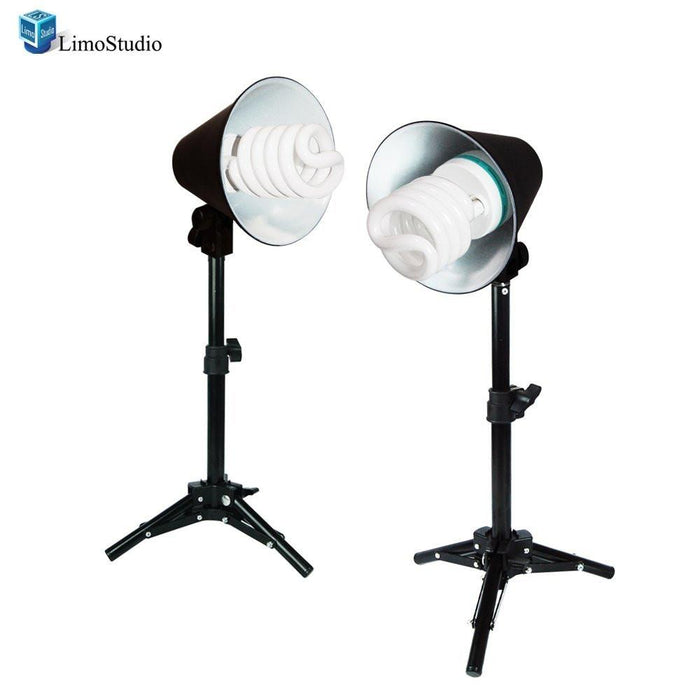 Photography Table Top Photo Studio Lighting Kit - 2 Light Kits, AGG107V2