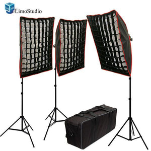 1200W Photography Studio HoneyComb Grid Softboxes Photo Video Portrait Studio Light Lighting Kit, AGG1098