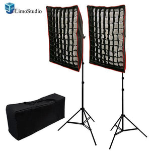 800W Photography Studio HoneyComb Grid Softboxes Photo Video Portrait Studio Light Lighting Kit, AGG1100