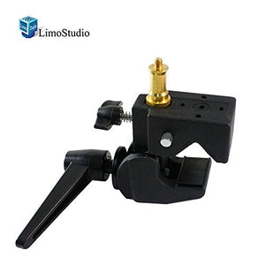 LimoStudio Super Clamp with Standard Stud for Photo Photography Studio, SRE1052