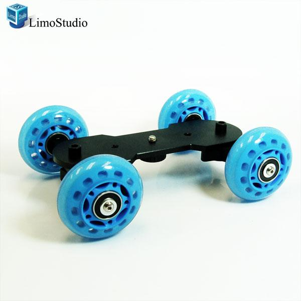 Table Top Dolly Kit Skater Wheel Stabiliser for Digital SLR Camera Video Truck, AGG1140