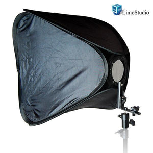 "Photo Studio 20"" Light Holder with Square Softbox Reflector, AGG1165"