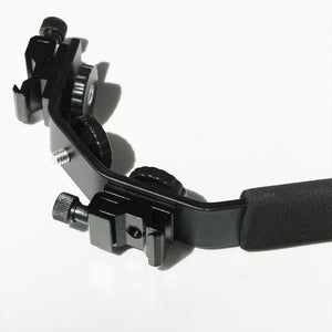 Camera Bracket Mount Heavy Duty Photography Video L-bracket with Standard Flash Shoe Mounts, AGG1179
