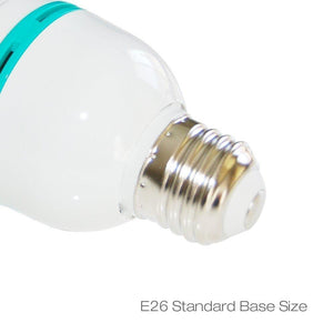 85 Watt Fluorescent Full Spectrum Pure White Daylight Balanced Studio Light Bulb, AGG119-A