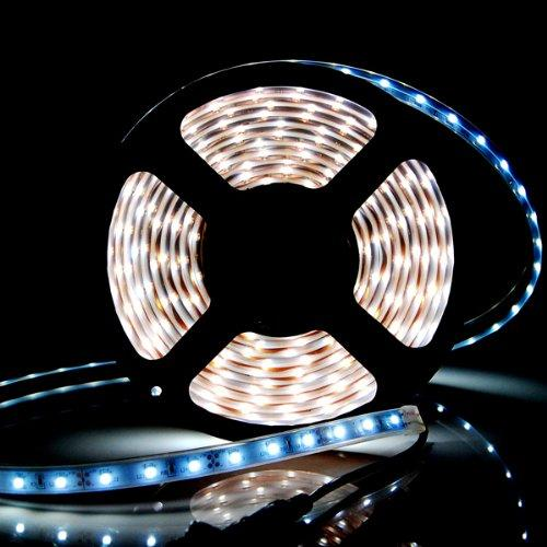 EPOXY type with 3M tape 16.4 ft, 5m(200inch) Ultra bright 5050 LED RGB Color Changing Waterproof Flexible Strip 300 Light with 24 keys controller, AGG1192