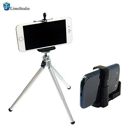 "Photography 8"" Table Top Camera mini Tripod Cell Phone Holder for iPhone 6 5S 5 4S and Galaxy S4 4, AGG1216"