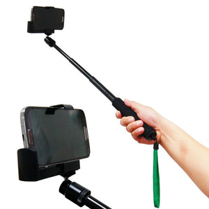 "70"" Premium Monopod 21"" Self Portrait Camera Monopod Extender and Monopod Stand Holder for iPhone 3g/4/5/5s and iPad, AGG1218"