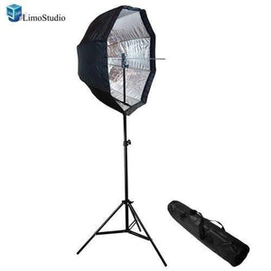 "Photo Studio 32"" Flash Softbox with 86"" Light Stand Kit without Flash Light, AGG1221"