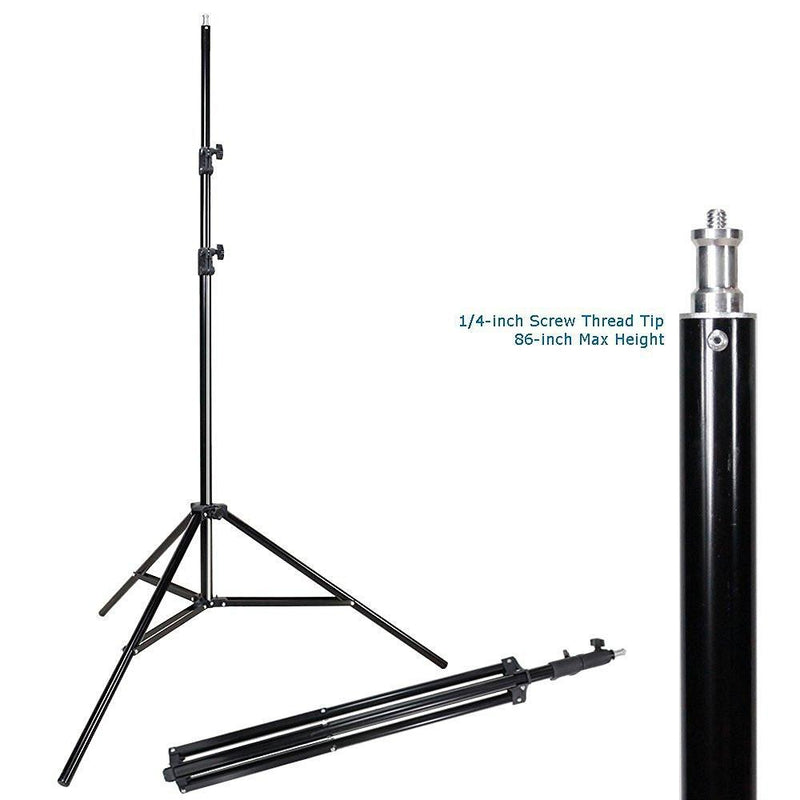 "Photo Studio 32"" Flash Softbox with 86"" Light Stand Kit without Flash Light, AGG1221V2"