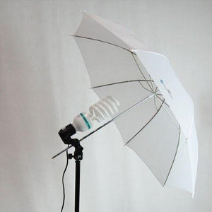 "33"" White Transparent Photo Umbrella Studio Reflector, AGG124"
