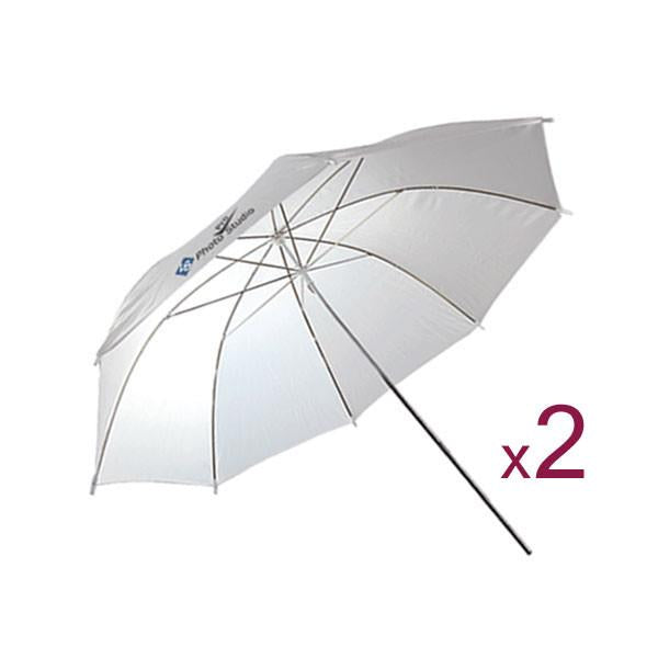 2 Photography Studio Reflector Umbrella Reflector Brand LimoStudio, AGG125