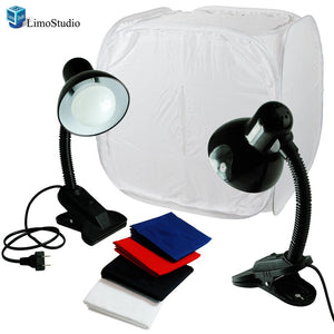 "30"" Table Top Light Kit, Lighting Soft Box Photography, Lighting Tent Kit, LED Light Stand, AGG1261"