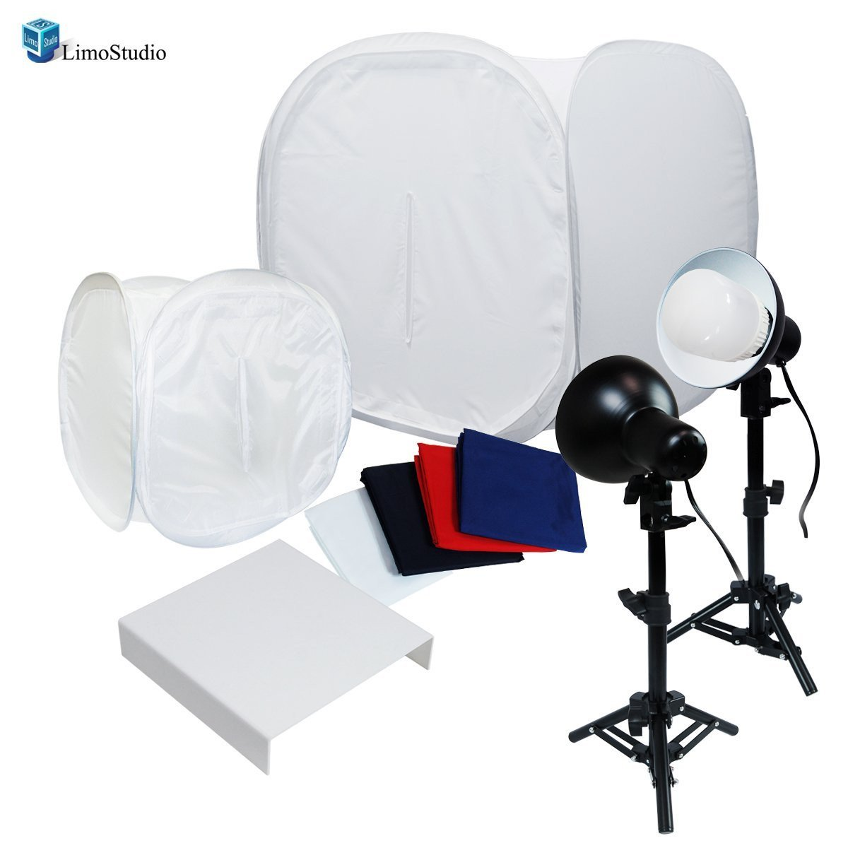 30  Table Top Light Kit Lighting Soft Box Photography Lighting Tent Kit LED Lighting Photo Light Set with Cl& and Acrylic Table AGG1263V2  sc 1 st  Limostudio & 30
