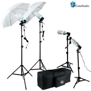 1600W Output, Photography Continuous Lighting Kit, Photo Umbrella Reflector, Flash Lighting Kit, Studio Light, AGG1267