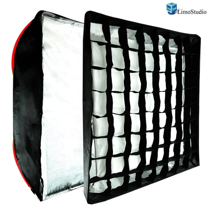 "Photography Studio 28"" x 28"" Honeycomb Grid Softbox Lighting Reflector, AGG1277"