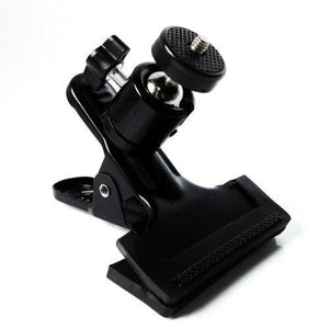 360 Swivel Mini Ball Head Photography Clamp w/ Speedlite Flash Hot Shoe Mount Adapter, AGG1291