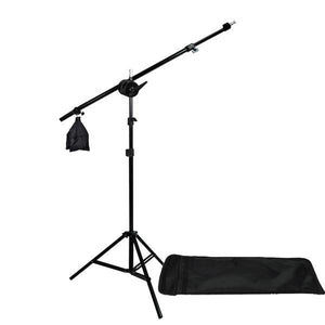 Photography Photo Studio Honey Comb Grid Softbox Lighting w/ Bulb Socket & Boom Arm Hair Light Kit, AGG1302