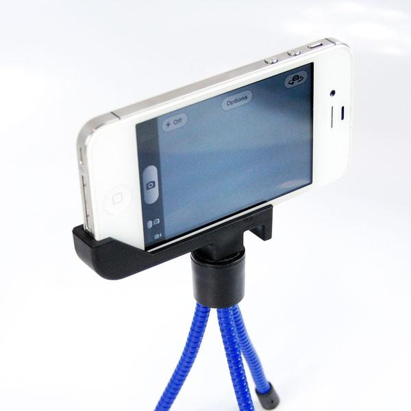 "21"" Self Portrait Camera Monopod Extender and Monopod Stand Holder for iPhone 6 5S 5 Galaxy S4 S3, AGG1314"