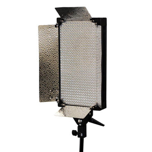 Photo Studio 2 Set of 500 Ultra Bright LED Photography Video Dimmable Potrait Light Panel with 3 Color Filters, AGG1317