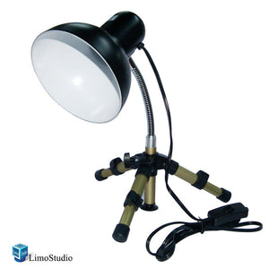Table Top Studio Light Portable and Flexible Light Head w/ Tripod, AGG1320