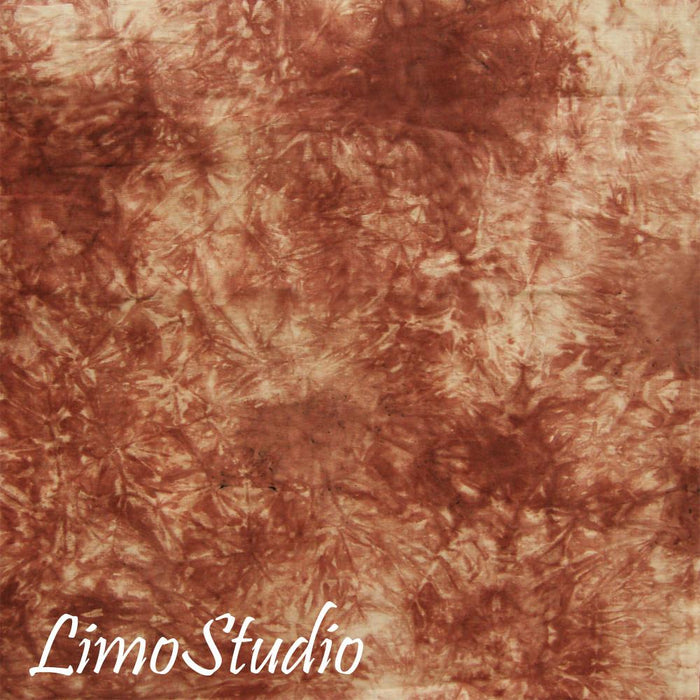 6 X 9 Ft Photo Studio Coral Red and White Hand Dyed Backdrop Backgrounds, AGG1342