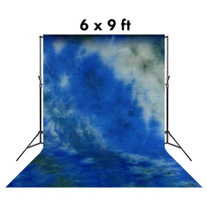 6 X 9 Ft Tie Die Cloudscape Hand Painted Muslin Backdrop Backgrounds, AGG1345