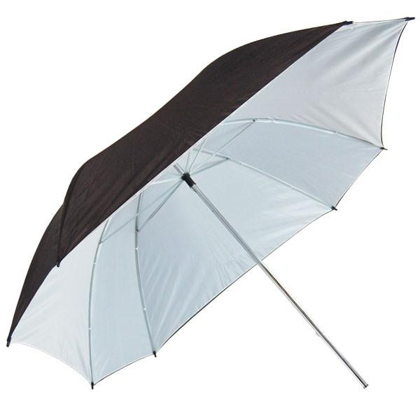 "52"" Double Layer Black/White Photo Video Studio Reflector Umbrella Portrait Studio, AGG134"