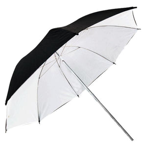 "53"" Wide 2 Layer Black and White Umbrella Reflector Diffuser Photo Video Umbrella, AGG135"