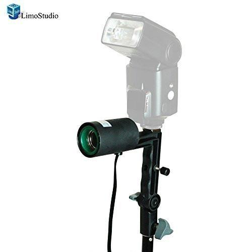 Photography Studio Single Light Head Bulb Holder E26/E27 with Hot Shoe Mount, AGG1382