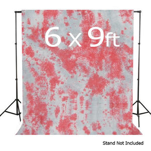 Hand Painted Hand Dyed 6' X 9' Muslin Photo Backdrop Background, AGG141