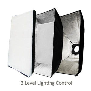 Photography Photo Studio 300W Flash Strobe Light Holder Soft Box Lighting Diffuser, AGG1443