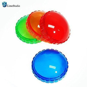 Photography Photo Studio 4 Color Gel Filter for 45W Strobe Flash Light, AGG1444