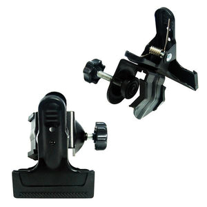 Photography Photo Video Studio 2 in 1 Mount C-Clamp with Rubber Holder Clamp Stand Kit, AGG1458