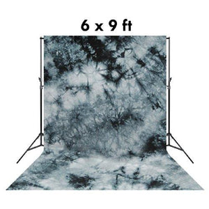 6 X 9 Ft Photo Studio Hand Dyed Fantasy Gray Muslin Backdrop Backgrounds, AGG145