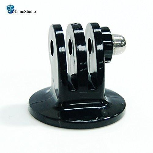 Black Tripod Mount Adapter for Gopro 4 Gopro HD Hero 3+ Hero 3 Hero 2 Hero 1 camera, AGG1461