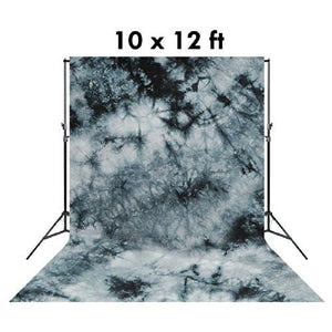10 X 12 Ft Photo Studio Hand Dyed Fantasy Gray Muslin Backdrop Backgrounds, AGG147