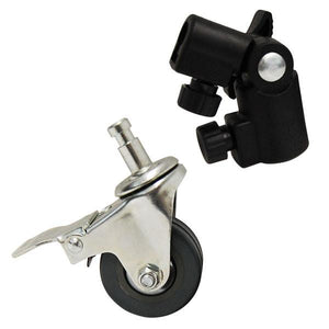 "Photography 3PCS Photo Studio 2"" CASTER WHEELS for Light Stands & Studio Boom , AGG1481"